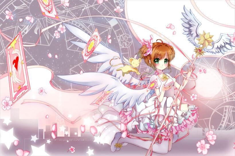 hình ảnh sakura thủ lĩnh thẻ bài đẹp nhất (3)