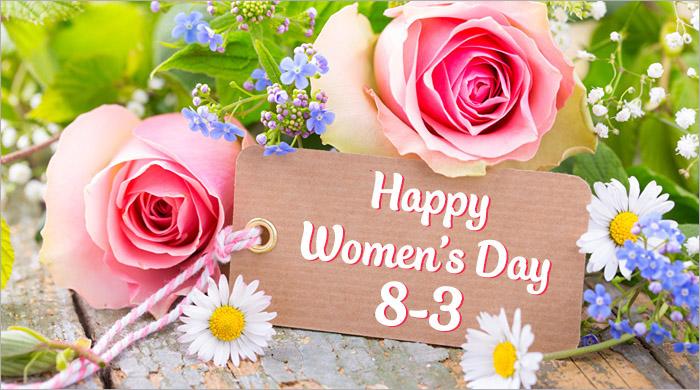 hình ảnh thiệp hoa chúc mừng 8-3 quốc tế phụ nữ