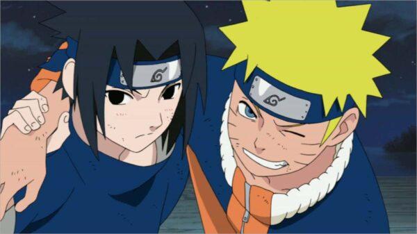 Hình ảnh tình bạn Sasuke và Naruto