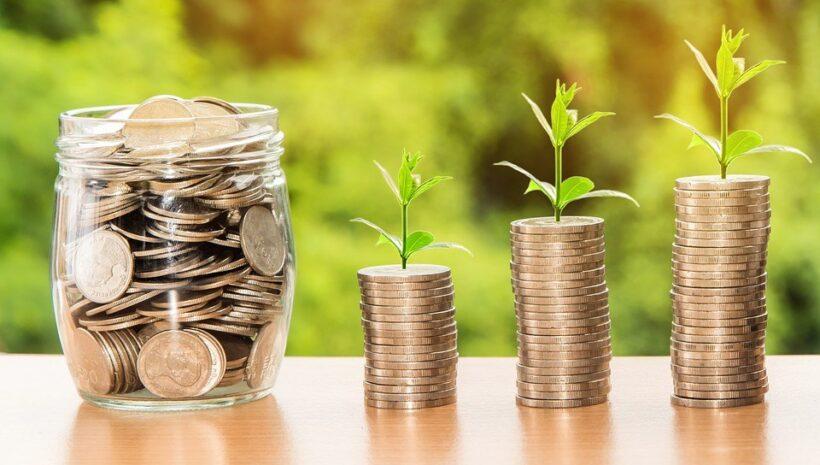 hình ảnh trồng sự may mắn với tiền bạc