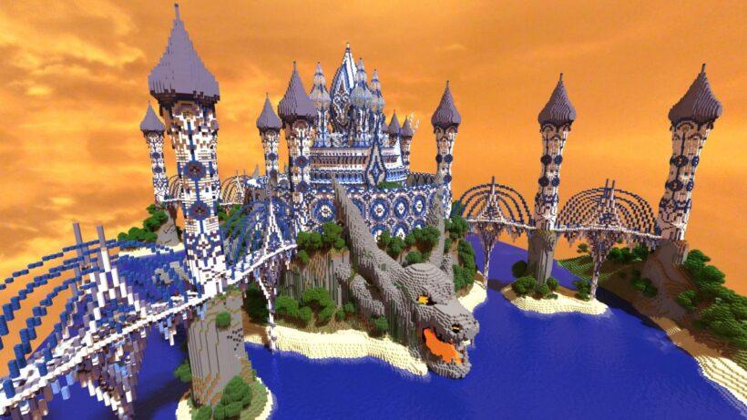 hình ảnh vương quốc ả rập trong minecraft
