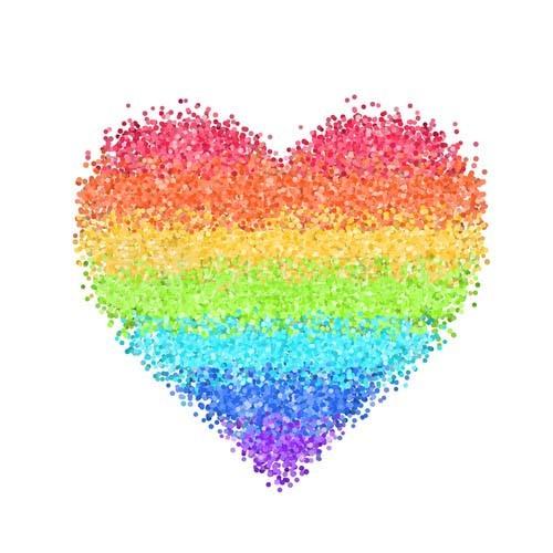 hình avatar trái tim