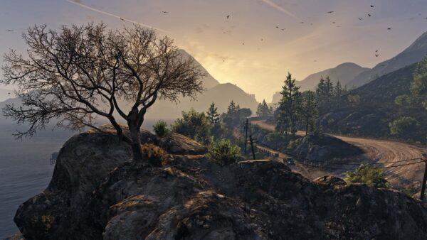hình nền 4k phong cảnh game