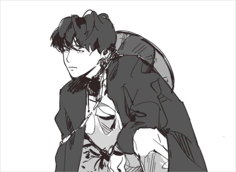 hình nền anime đen trắng đẹp nhất (11)