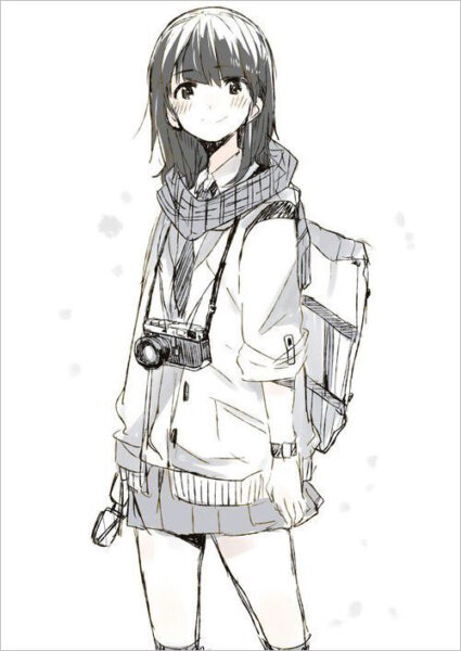 hình nền anime đen trắng đẹp nhất (6)