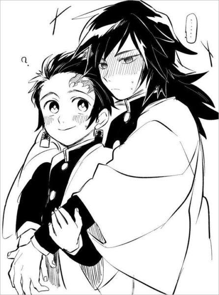 hình nền anime đen trắng đẹp nhất (9)