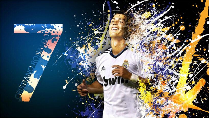 Hình nền bóng đá Ronaldo CR7