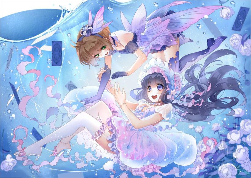 Hình nền của Sakura và Tomoyo