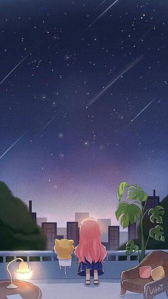 hình nền điện thoại anime cute