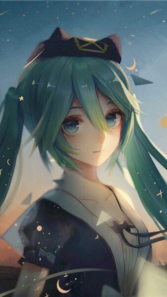 Hình nền điện thoại anime girl dễ thương