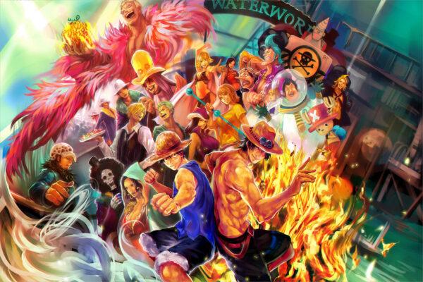 Hình nền Luffy One Piece 3D 4K
