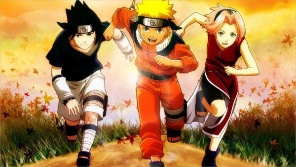 Hình nền Naruto và Sakura vs Sasuke
