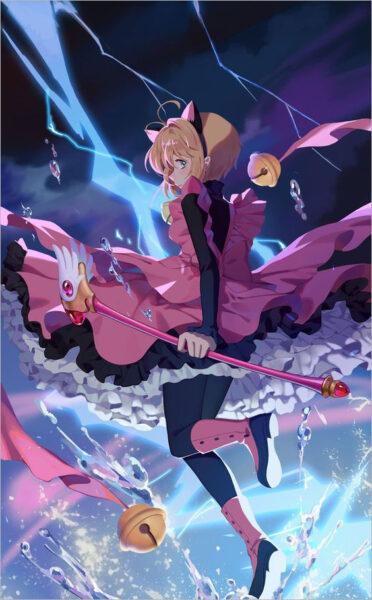 hình nền sakura thủ lĩnh thẻ bài đẹp nhất (4)