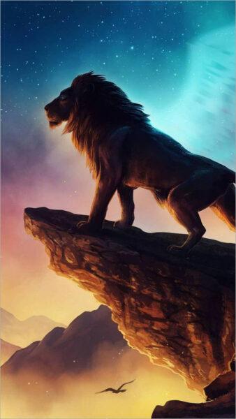 hình nền sư tử cho điện thoại