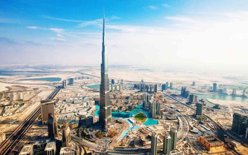 hình nền thành phố Dubai cho máy tính