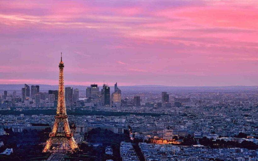 hình nền thành phố Paris Pháp