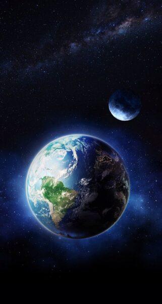 hình nền trái đất 3d cho iphone