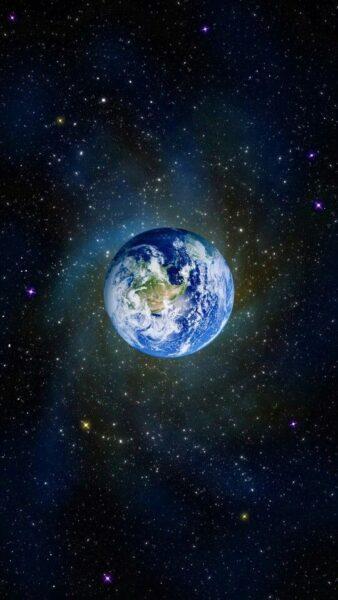 hình nền trái đất cho samsung