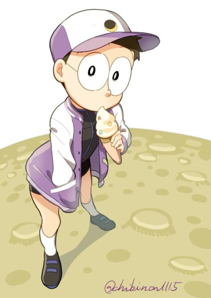 hình nobita cute siêu đáng yêu
