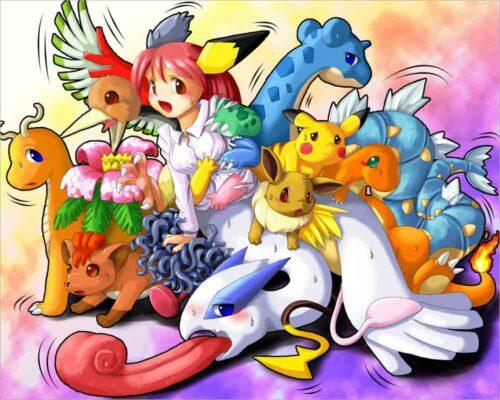 Hình Pokemon cute dễ thương
