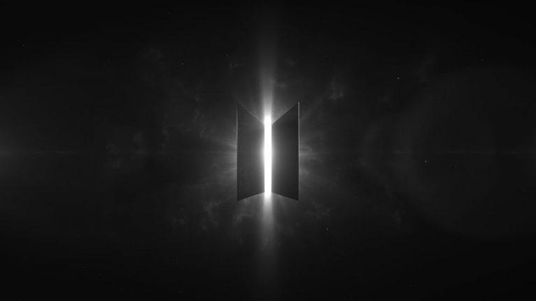 Mẫu logo BTS bóng tối đi tới ánh sáng