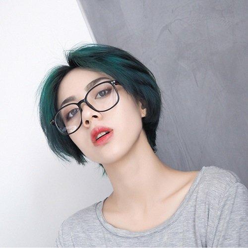 mẫu tóc ngắn cá tính cho con gái