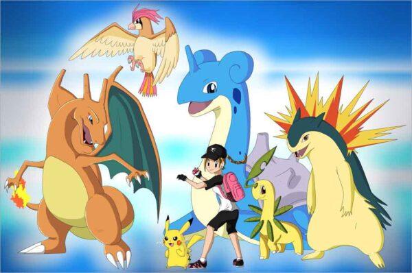 Những hình ảnh Pokemon đẹp nhất (6)
