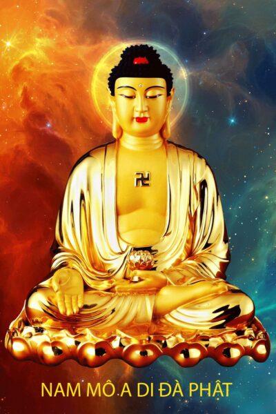 Tải hình ảnh Phật A Di Đà đẹp an lạc