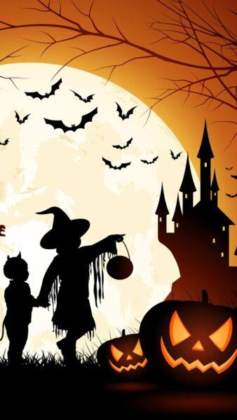 tải hình nền Halloween cho điện thoại