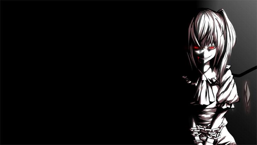 ảnh nền anime 4K nữ ma đầu ác quỷ