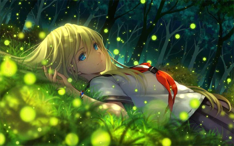 ảnh nền anime girl 4k cực đẹp