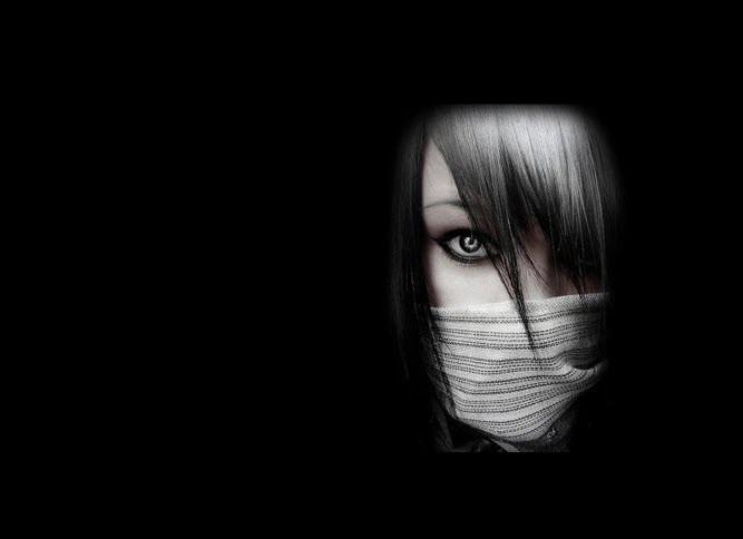 Avatar đen ngầu nữ