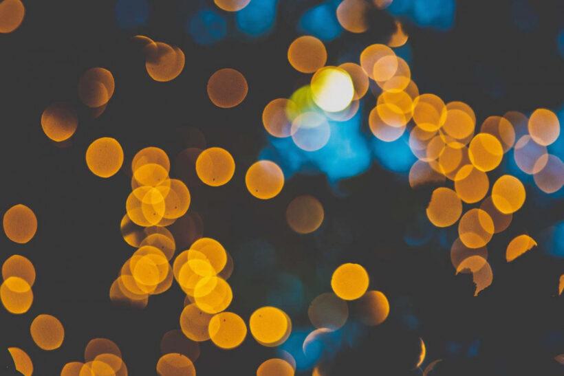 background blur ánh sáng
