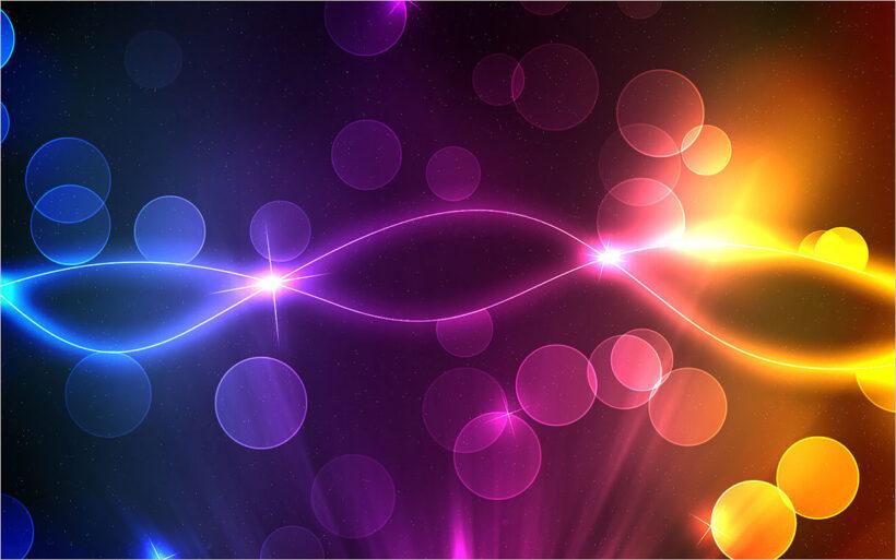 background luồng ánh sáng màu sắc