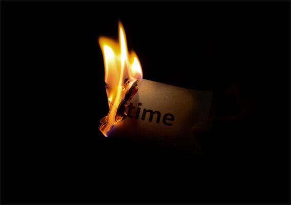 background ngọn lửa thời gian