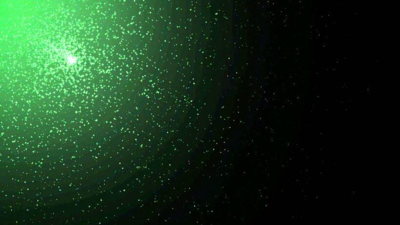 background nguồn sáng xanh