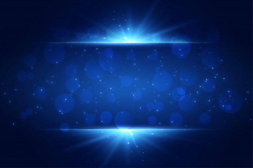 background powerpoint ánh sáng xanh