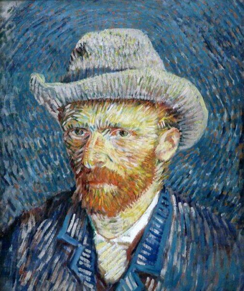bức tranh chân dung của Van-Gogh