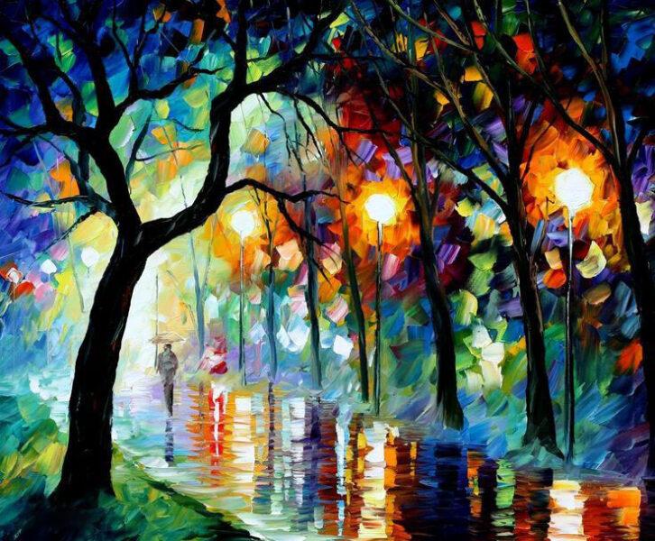 bức tranh sơn dầu đẹp