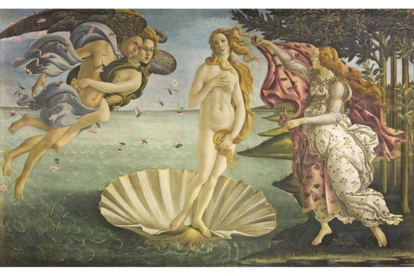 bức tranh sự ra đời cảu thần Venus