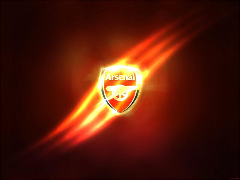 Download Arsenal logo wallpaper