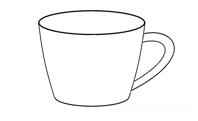 Giáo án tô màu cái cốc nhà trẻ