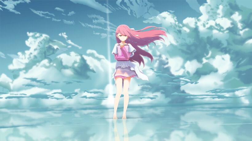 hình ảnh anime 4k girl buồn một mình khóc