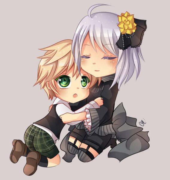 hình ảnh anime chibi cặp đôi tình yêu cute dễ thương nhất (21)