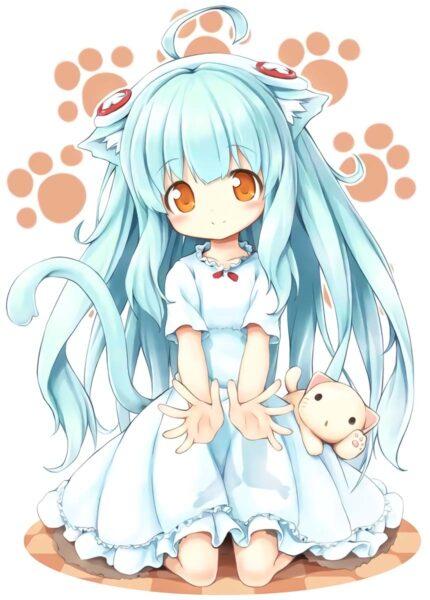 hình ảnh anime chibi cute dễ thương nhất (1)