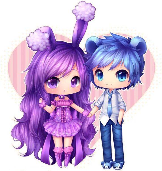 hình ảnh anime chibi cute dễ thương nhất (2)
