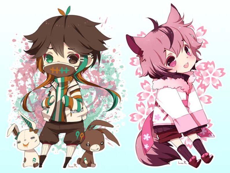 hình ảnh anime chibi cute dễ thương nhất (5)