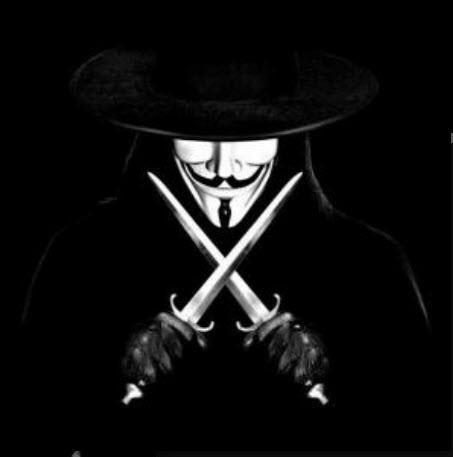 Hình ảnh avatar đen hacker