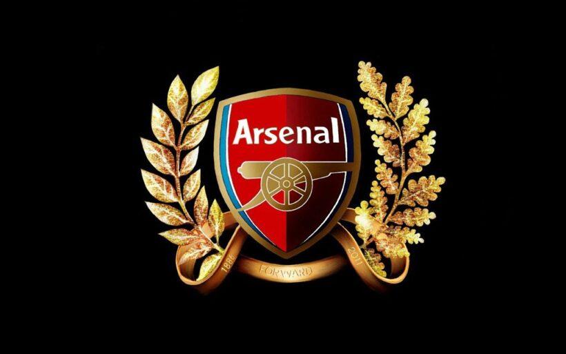 Hình ảnh logo Arsenal 3D đẹp