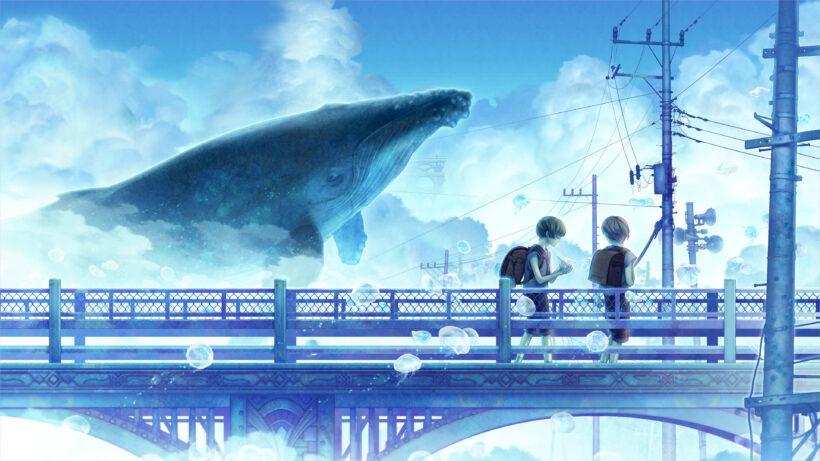 hình ảnh nền anime 4k 3D huyền ảo đẹp